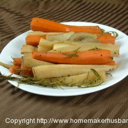 Parsnips and Carrots-Sous Vide